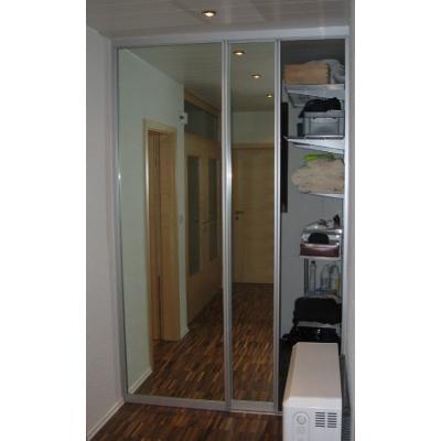 Aluflex-Schiebegleittürsystem Flur/Garderobe